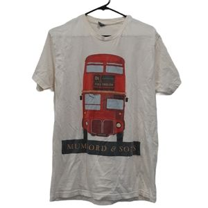 Mumford and Sons 2013 North American Tour Shirt